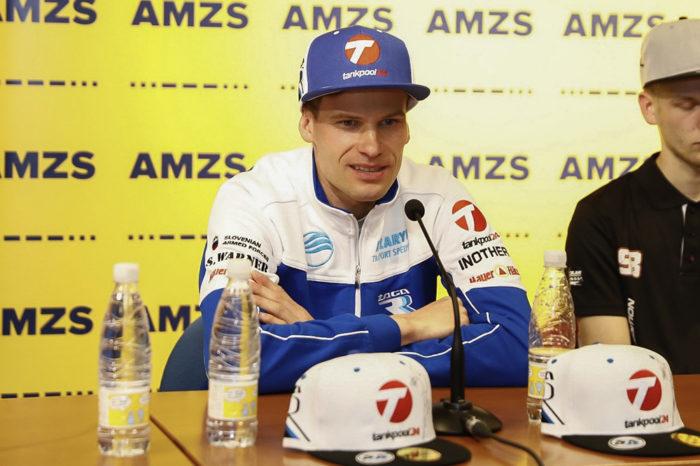 Matej Zagar SGP Krsko Press conference